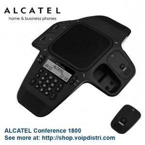 Alcatel Conference 1800 fitting your meeting room size