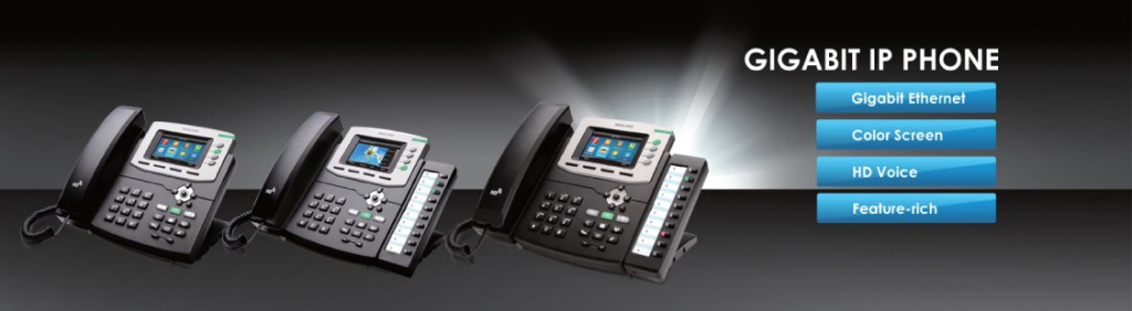 Since 2005, Hanlong released some home-used IP Phone, Unicorn 5001, Unicorn 4102… Now based on the rich experience of R&D, our new full range of Enterprise HD IP Phone is released in 2013. It offers high quality and cost-effective products for end-users, including support for TLS and SRTP protocols and VPN capabilities, also some other features, like Gigabit, color screen, BLF keys, HD voice, graphic icons, multi-languages, auto-provision… Moreover, because of our flexible chipset solution, we make the software be easier to use.
