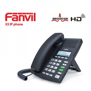 Fanvil X3 IP Phone comes with the revolutionary design concepts and elegant appearance.
