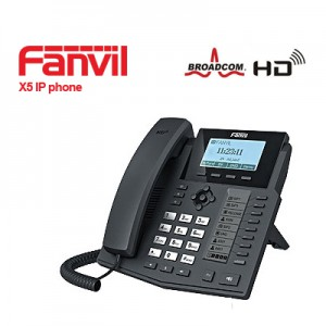 Fanvil X5G Gigabit IP Phone with self-labeling function keys