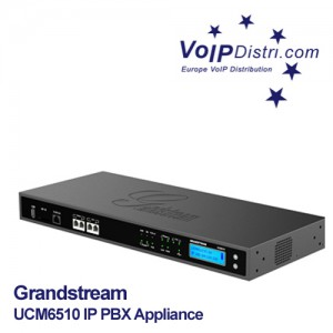 Grandstream UCM6510 IP PBX - License-Free IP PBX Appliance with E1/T1/J1 Interface, Enhanced Reliability and Performance For Up to 2000 Users
